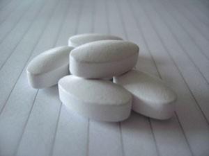 Pílulas com suplemento de cálcio (Foto: BBC)