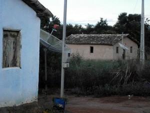 Caso ocorreu no povoado Buriti Seco, no município de São Desidério (Foto: Polícia Civil/Divulgação)