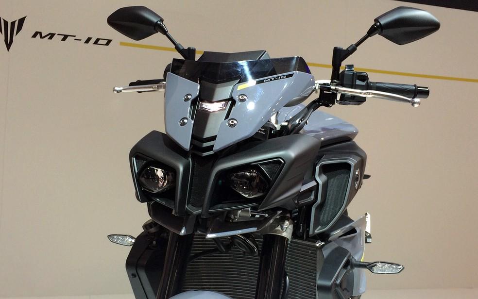 Yamaha MT-10 (Foto: Rafael Miotto/G1)