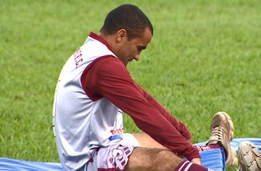 Luciano Gigante, atacante do Sertãozinho (Foto: Reprodução EPTV)