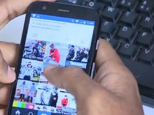 Microempresários usam redes sociais para vender (Foto: Reprodução/TV Globo)