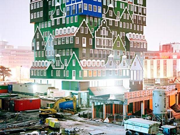 Construção tem 40 metros de altura (Foto: Divulgação)