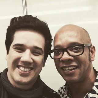 Rogério Flausino e Vander Lee (Foto: Instagram / Reprodução)