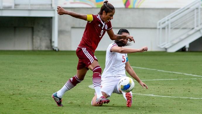 México x Trinidad e Tobago Natal (Foto: Vlademir Alexandre/Allsports)