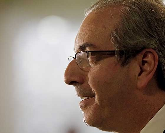 Eduardo Cunha na Câmara  (Foto: Dida Sampaio/Estadão Conteúdo)