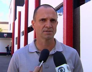 Wagner Lopes - técnico do Atlético-GO (Foto: Reprodução / TV Anhanguera)
