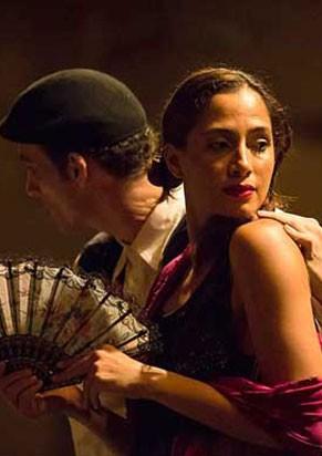 Camila Pitanga em cena de 'O Duelo' (Foto: Renato Mangolin)