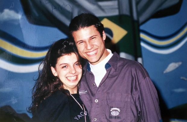 Mirella Zacanini e Dinho (Foto: Arquivo pessoal)