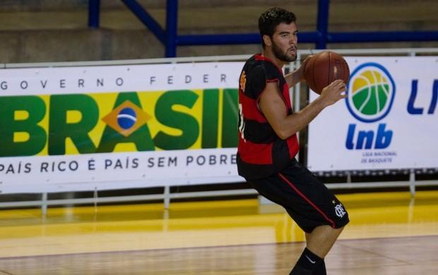 Gegê foi destaque do Flamengo mo LDB, basquete (Foto: Bruno Spada / LNB)
