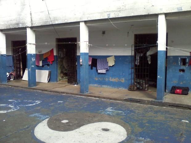 Cadeia desativada Itapeva (Foto: Carlos Alberto Soares / TV TEM)