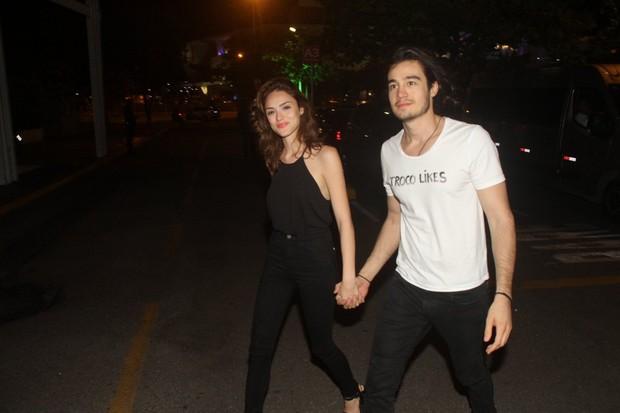 Isabelle Drumond e Tiago Iorc (Foto: GRAÇA PAES- PHOTO RIO NEWS)