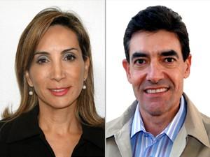 Dárcy Vera (PSD) e Duarte Nogueira (PSDB) (Foto: Arte/G1)