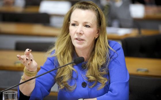 Senadora Vanessa Grazziotin (PCdoB-AM) em foto de 2013 (Foto: Marcos Oliveira/Agência Senado)