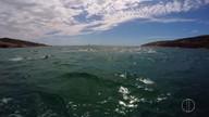 Praia em Arraial do Cabo é palco de prova de natação neste domingo