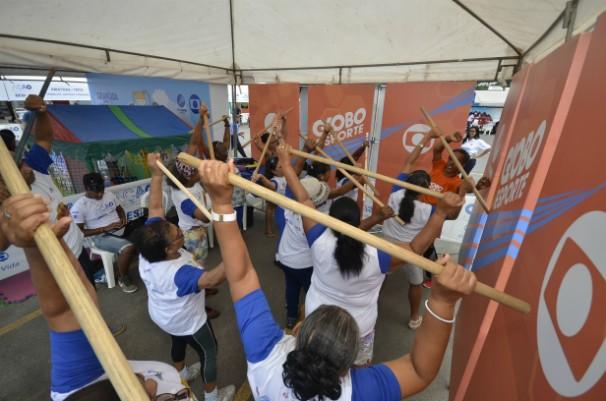Aulas de Fitness Home (Foto: Eli Cruz)