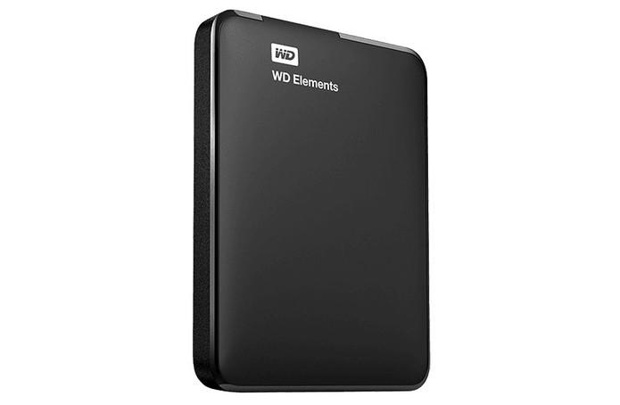 HD externo WD Elements oferece 1 TB e USB 3.0 (Foto: Divulgação/WD)