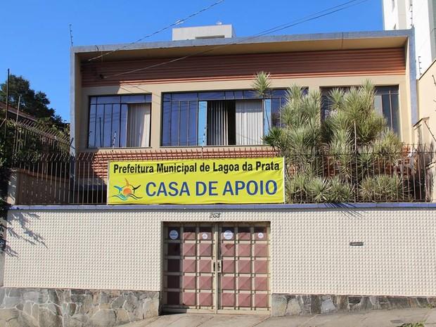 Casa de apoio de pacientes de Lagoa da Prata em Belo Horizonte (Foto: Prefeitura de Lagoa da Prata/Divulgação)