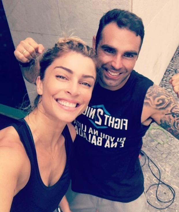 Grazi Massafera e Chico Salgado (Foto: Instagram / Reprodução)