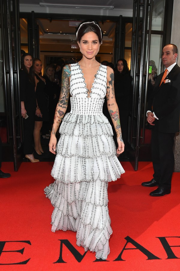 Look by Christopher Bailey no Met Gala (Foto: Getty Images)