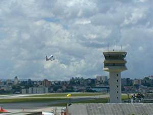 Nova torre de controle de Congonhas (Foto: Reprodução)