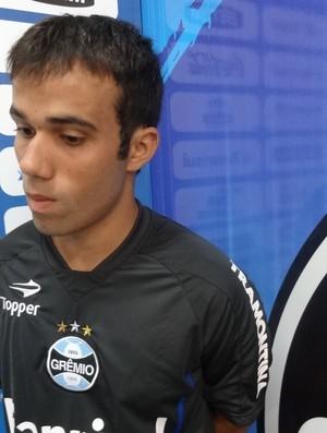 Wangler meia-atacante Grêmio (Foto: Tomás Hammes / GLOBOESPORTE.COM)