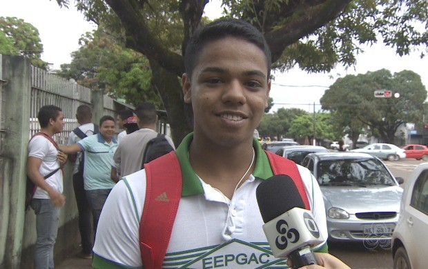 Estudantes participaram do quadro apresentado suas dúvidas (Foto: Bom Dia Amazônia)