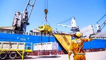 Porto do Açu exporta 33 mil toneladas de bauxita (Divulgação/Prumo)