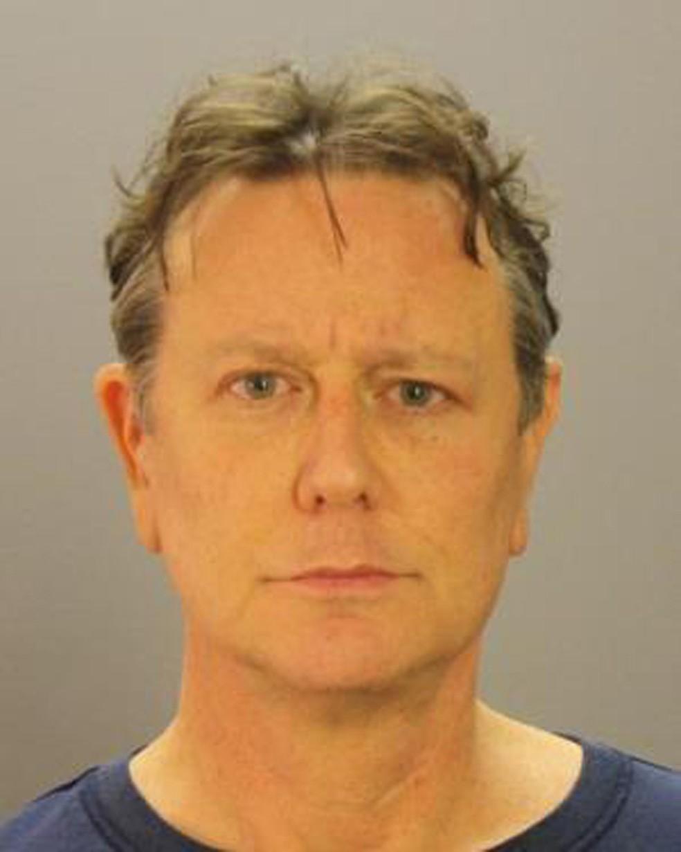 Judge Reinhold em foto não datada divulgada pelo Departamento de Polícia de Dallas (Foto: Dallas County Sheriff's Department via AP)