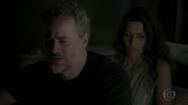 Eugênio recebe a notícia de que Irene morreu