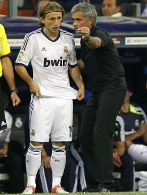 Luka Modric José Mourinho Real Madrid (Foto: EFE)