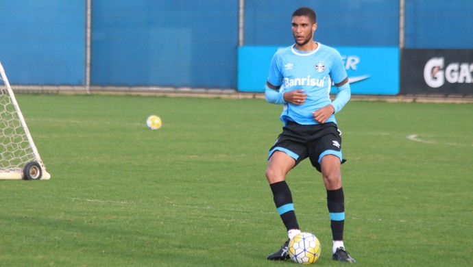 Lucas Rex Grêmio (Foto: Eduardo Moura/GloboEsporte.com)