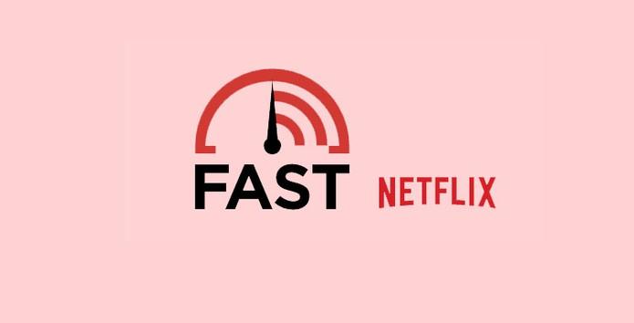 Velocímetro do Netflix chamado Fast mede a taxa de download da conexão (Foto: Reprodução/Netflix)