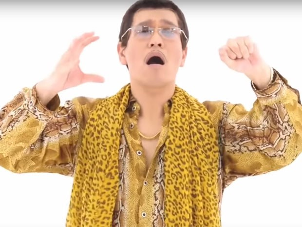 Imagem da música viral 'PPAP' ou 'Pen-pineaaple-apple-pen', do japonês Piko-Taro (Foto: Divulgação)