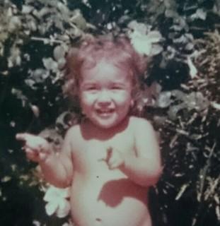 Marcella Priscilla quando era criança (Foto: Arquivo pessoal)