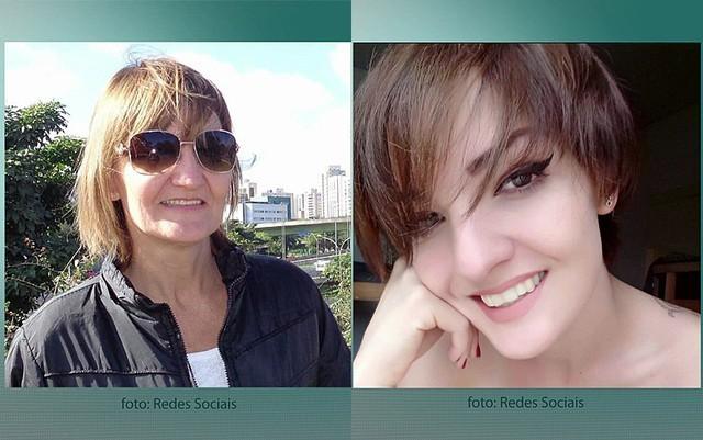 Maria Ilda e Maira Lidiane Panas também morreram no acidente de avião em Paraty (Foto: TV Globo/Reprodução)