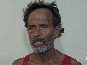 Turista que se identificou como chileno foi preso ao transportar bebê em saco de lixo na Bahia (Foto: Reprodução/ TV Bahia)
