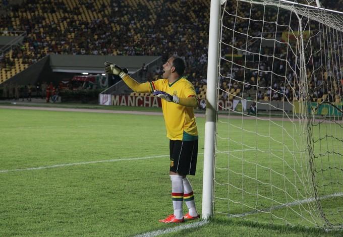 Rodrigo Ramos - goleiro Sampaio (Foto: De Jesus/O Estado)