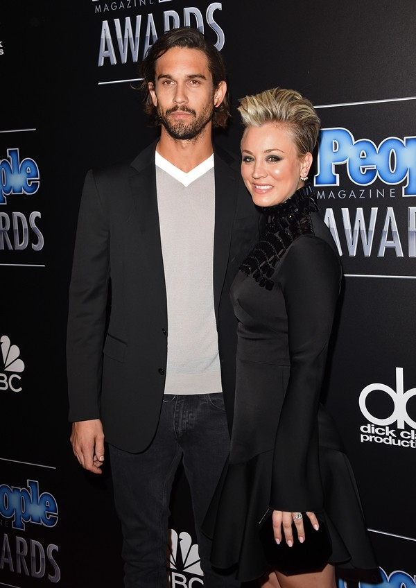 Ryan Sweeting e Kaley Cuoco-Sweeting  (Foto: Getty Images)