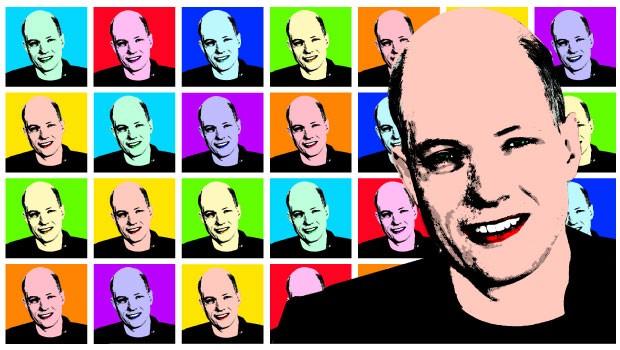 O CONSELHEIRO Ilustrações sobre uma foto do filósofo Alain de Botton. A School of Life, criada por ele, usa a obra de grandes pensadores como base para conselhos sobre a vida cotidiana (Foto: Ilustração de Alexandre Lucas sobre foto de Geraint Lewis/Alamy/Other Images)
