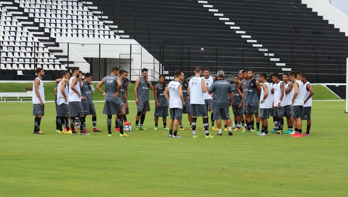 Treino do ABC (Foto: Andrei Torres/ABC)