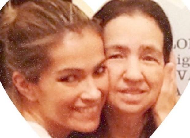 Fani Pacheco e a mãe, Adele Mara (Foto: Reprodução/Instagram)
