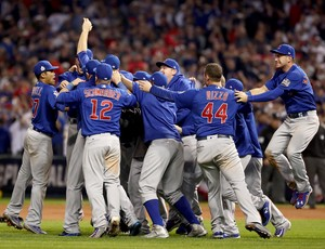 Chicago Cubs campeão MLB (Foto: Getty)