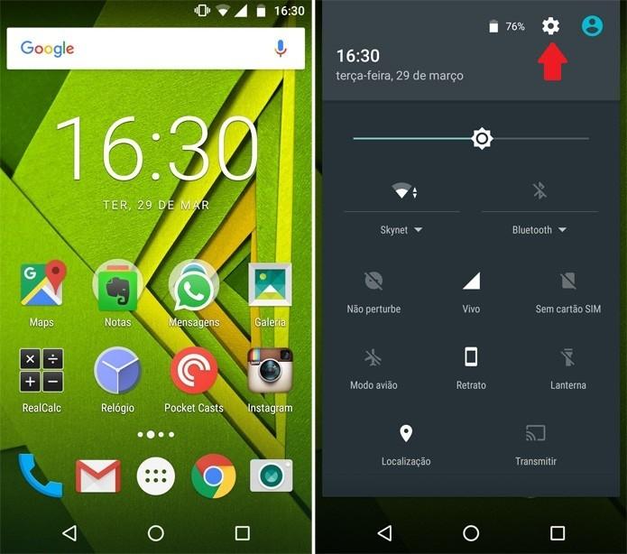 Atualizando Android Moto X Play (Foto: Reprodução/Pedro Cardoso)