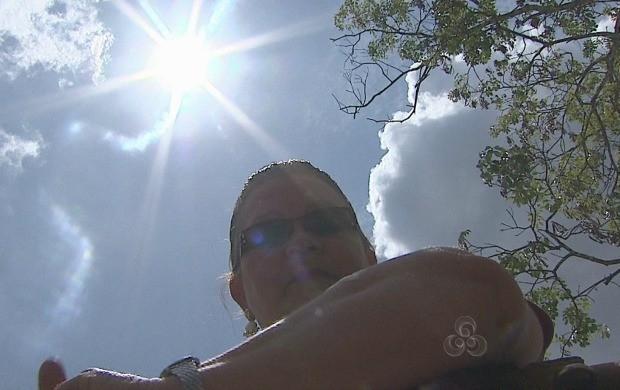 Exposição ao sol em excesso pode trazer prejuízos a pele (Foto: Bom Dia Amazônia)