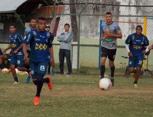 Jogo-treino Tupi-MG Figueirense-MG Juiz de Fora (Foto: Ricardo Wagner)
