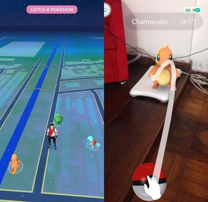 Informações pessoais podem vazar com Pokémon Go? (Foto: Reprodução/Felipe Vinha)