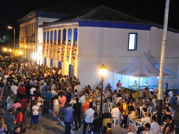 Corredor Cultural de Montes Claros, um pedaço da parte histórica da cidade.  (Foto: Fábio Marçal)
