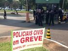 Greve de policiais civis corta visitas a detentos e transporte de presos no DF