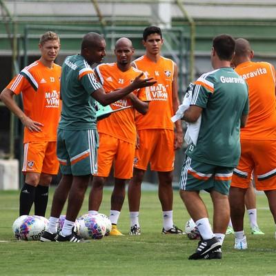 Cristóvão Borges comanda treino do Fluminense (Foto: Nelson Perez/Fluminense FC)