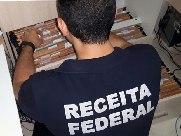 Segundo polícia, cooperativas foram criadas para esquema (Foto: Divulgação/ Receita Federal)